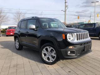 Used 2018 Jeep Renegade Limited 4X4**Power Sunroof**Navigation** for sale in Mississauga, ON