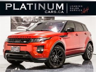Used 2015 Land Rover Evoque DYNAMIC, NAVI, PANO, CAM, MERIDIAN, RED Lthr for sale in Toronto, ON