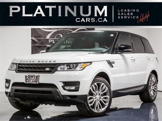 Used 2014 Land Rover Range Rover Sport SUPERCHARGED, NAVI, CAM, SUNROOF, Heated Seats for sale in Toronto, ON