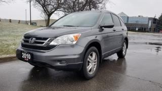 Used 2010 Honda CR-V 4WD 5dr EX-L   One Owner   Ontario Vehicle   Leather for sale in Vaughan, ON