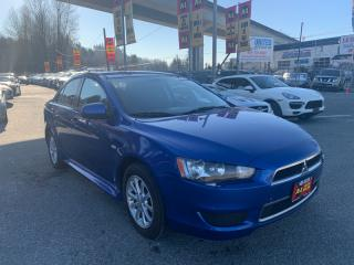 Used 2012 Mitsubishi Lancer 4dr Sdn Auto ES for sale in Surrey, BC