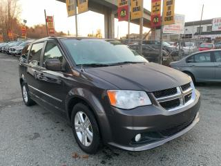 Used 2015 Dodge Grand Caravan Crew - Leather & Sunroof for sale in Surrey, BC