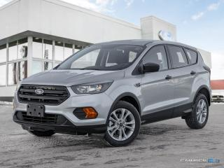 New 2019 Ford Escape S for sale in Winnipeg, MB