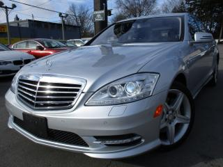 Used 2011 Mercedes-Benz S-Class S450 4MATIC ~ LOW KMS ~ 58KMS ONLY LIKE NEW !!! for sale in Burlington, ON
