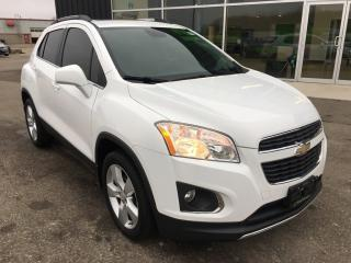Used 2014 Chevrolet Trax LTZ, Sunroof, Leather, AWD, Heated Seats for sale in Ingersoll, ON