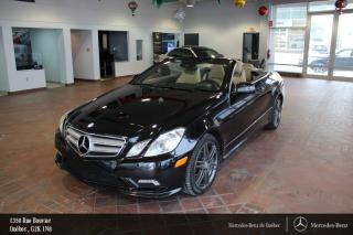 Used 2011 Mercedes-Benz E-Class E550 Cabriolet for sale in Québec, QC