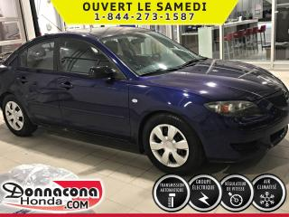 Used 2006 Mazda MAZDA3 GS ***GROUPE ÉLECTRIQUE*** for sale in Donnacona, QC