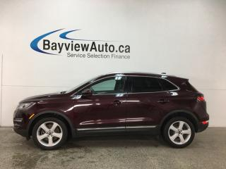 Used 2016 Lincoln MKC Premier - PUSH START! REMOTE START! REVERSE CAMERA! SYNC! WIFI! PADDLE SHIFTERS! for sale in Belleville, ON