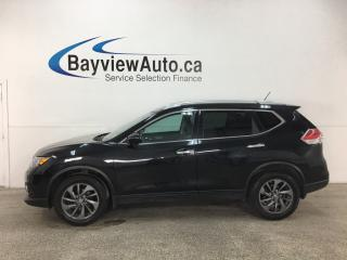 Used 2016 Nissan Rogue SL Premium - AWD! HTD LTHR! PANOROOF! REVERSE CAM! PWR LIFTGATE! BSA! for sale in Belleville, ON