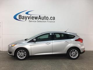 Used 2017 Ford Focus - 1500KMS! AUTO! SYNC! ALLOYS! A/C! CRUISE! REVERSE CAM! for sale in Belleville, ON