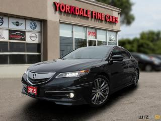 Used 2015 Acura TLX Elite Pkg. Aero Style. Navi. Cam. Original for sale in Toronto, ON