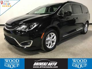 Used 2018 Chrysler Pacifica Touring-L Plus CLEAN CARFAX, 7 PASSENGER, REAR BLURAY ENTERTAINMENT for sale in Calgary, AB