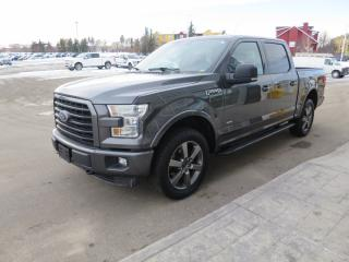 Used 2016 Ford F-150 XLT Clean carfax report, 2.7L ecoboost engine, FX4 off road package, trailer tow pack, sport package for sale in Okotoks, AB
