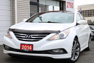 Used 2014 Hyundai Sonata SE Pano. Leather. Camera. Very Clean Car for sale in Toronto, ON