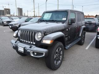 New 2018 Jeep Wrangler Unlimited Sahara for sale in Concord, ON
