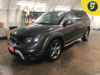 Used 2017 Dodge Journey Crossroad * AWD * Navigation * DVD * Leather *  Sunroof * Reverse camera * Remote start * Keyless entry * Passive entry *  Dual Climate control * Heat for sale in Cambridge, ON