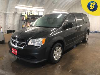 Used 2012 Dodge Grand Caravan SE * Stow and go 3rd Row * Keyless entry * Dual Climate control *  Economy mode * Steering wheel controls * Power windows/mirrors * Auto dimming mirro for sale in Cambridge, ON