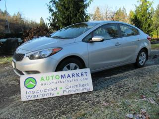 Used 2016 Kia Forte $5.71 /DAY INCL INT & NO PMTS FOR 6 MONTHS for sale in Surrey, BC