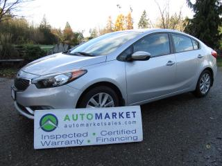 Used 2015 Kia Forte $5.21/DAY INCL INT & NO PMTS FOR 6 MONTHS for sale in Surrey, BC