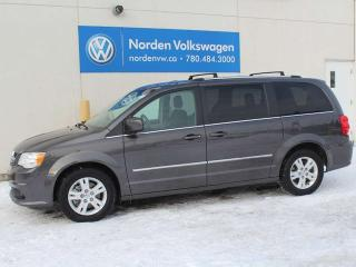Used 2017 Dodge Grand Caravan CREW - V6 ENGINE / A-C / CRUISE CONTROL / ALLOY WHEELS for sale in Edmonton, AB