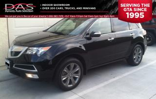 Used 2012 Acura MDX Elite Package Navigation/TV-DVD/Sunroof/7 Pass for sale in North York, ON