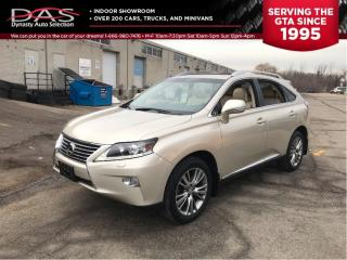 Used 2013 Lexus RX 350 PREMIUM NAVIGATION/LEATHER/SUNROOF for sale in North York, ON