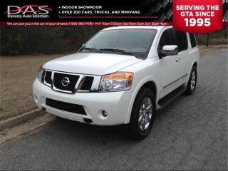 Used 2010 Nissan Armada PLATINUM NAVIGATION/LEATHER/SUNROOF/8 PASS for sale in North York, ON