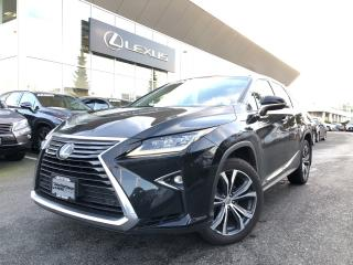 Used 2017 Lexus RX 350 8A Manager Special, LUX PKG, Certified, ONE Owner for sale in North Vancouver, BC