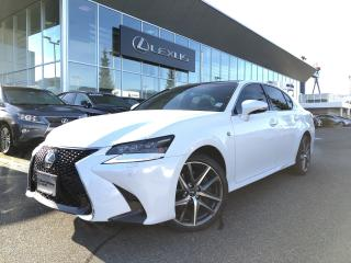 Used 2016 Lexus GS 350 AWD 6A Certified, F Sport 2 PKG, NO Accidents, LOW for sale in North Vancouver, BC