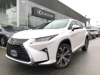Used 2017 Lexus RX 350 8A Luxury PKG, Local, NO Accidents for sale in North Vancouver, BC