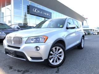 Used 2011 BMW X3 Xdrive28i NO Accidents, Local, 1 Owner, Must SEE! for sale in North Vancouver, BC