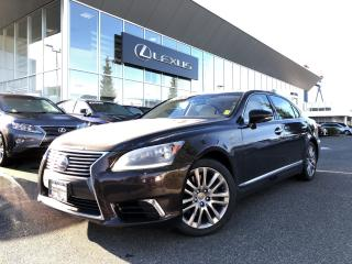 Used 2015 Lexus LS 600H L Rare, Certified, Local, ONE Owner for sale in North Vancouver, BC