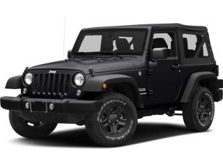 Used 2017 Jeep Wrangler SPORT for sale in Surrey, BC
