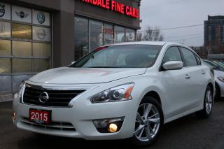 Used 2015 Nissan Altima 2.5 SV Navigation. Camera. Roof. Original Car for sale in Toronto, ON
