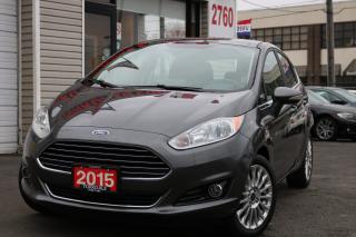 Used 2015 Ford Fiesta Titanium, Camrea, Navi,Sunroof for sale in Toronto, ON