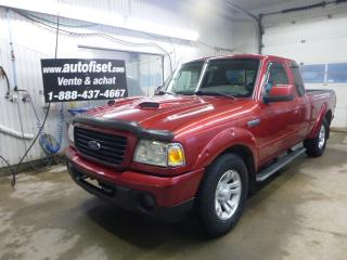 Used 2008 Ford Ranger Sport AWD for sale in St-Raymond, QC