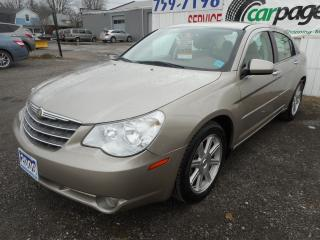 Used 2009 Chrysler Sebring Certified w/ 6 Month Warranty for sale in Brantford, ON