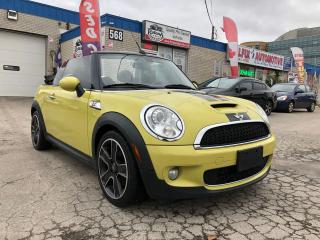 Used 2009 MINI Cooper Convertible S for sale in Oakville, ON