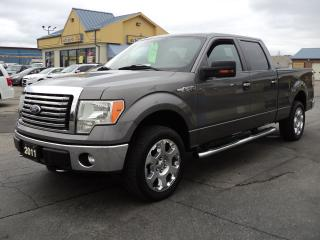Used 2011 Ford F-150 XLT SuperCrew XTR 4x4 5.0L 6ft Box for sale in Brantford, ON