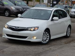 Used 2010 Subaru Impreza AWD,NO-ACCIDENTS,SPORTS PCKG,SUNROOF,HEATED SEATS, for sale in Mississauga, ON