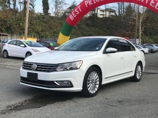 Used 2016 Volkswagen Passat COMFORTLINE for sale in Coquitlam, BC