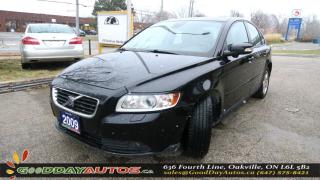 Used 2009 Volvo S40 2.4L|LOW KM|NO ACCIDENT|LEATHER|SUNROOF|ALLOYS for sale in Oakville, ON