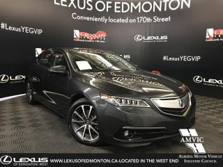 Used 2016 Acura TLX V6 Elite for sale in Edmonton, AB