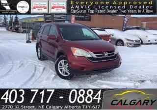Used 2010 Honda CR-V 4WD 5dr EX-L for sale in Calgary, AB