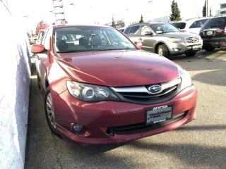 Used 2011 Subaru Impreza 2.5 i with Clean CarFax History! for sale in North Vancouver, BC