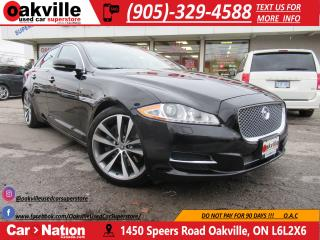 Used 2011 Jaguar XJ 5.0L 385 HP | LEATHER | PANO ROOF | NAVI | B/U CAM for sale in Oakville, ON