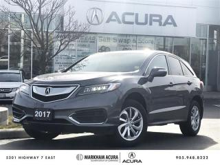 Used 2017 Acura RDX Tech at HTD STS, PWR TRUNK, BLINDSPT IND, ACURAWATCH for sale in Markham, ON