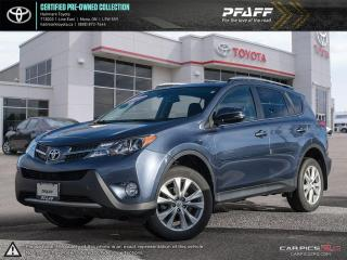 Used 2014 Toyota RAV4 AWD LIMITED for sale in Orangeville, ON