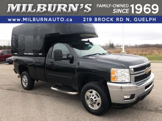 Used 2014 Chevrolet Silverado 2500 HD LT 4x4 / Highroof Cap /w Shelving for sale in Guelph, ON