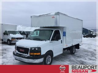 Used 2018 GMC Savana SAVANA 3500 CUBE 12 PIEDS AVEC DECK AVAN for sale in Beauport, QC